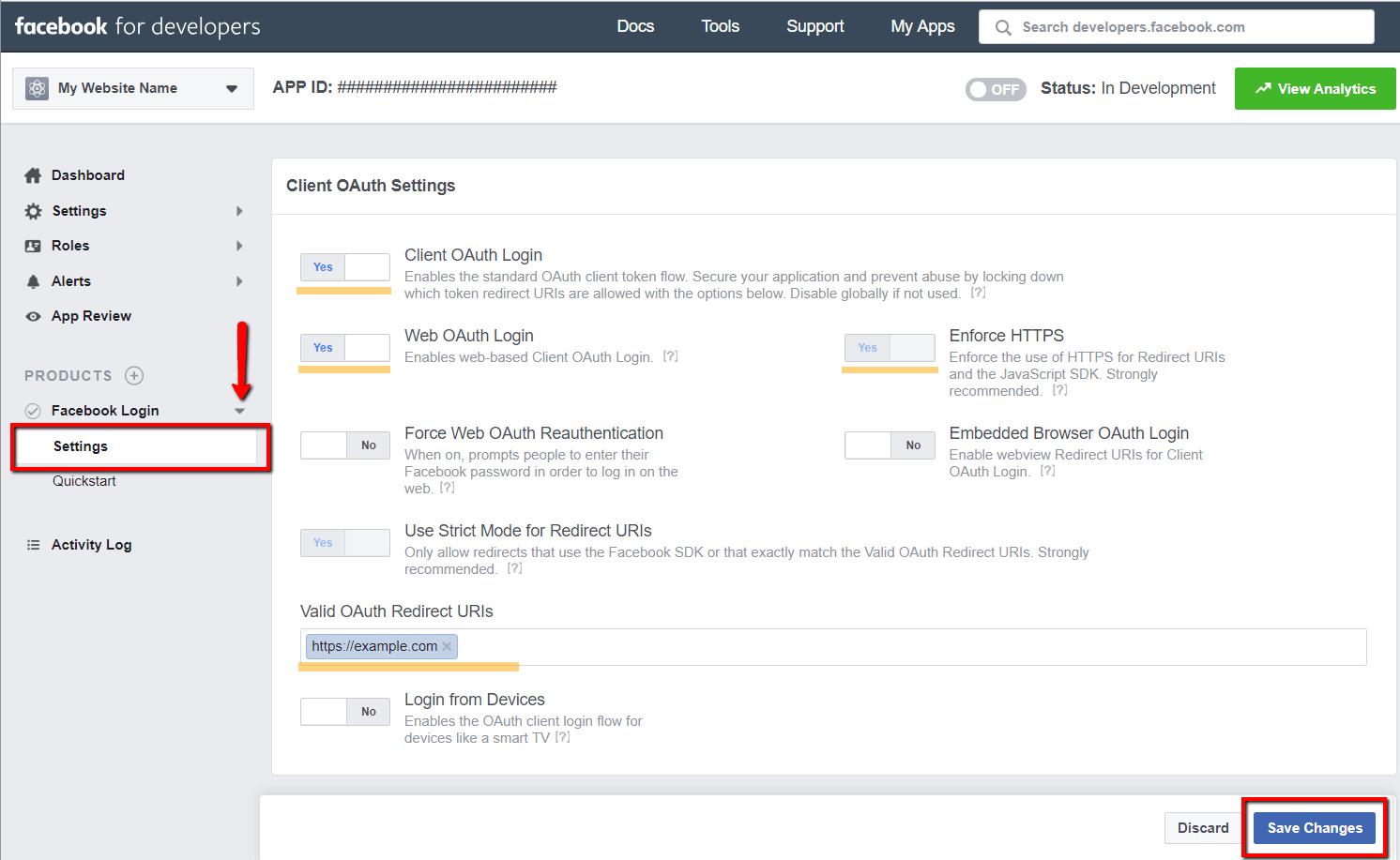 Facebook App Configuration - wpDiscuz - WordPress Comment Plugin