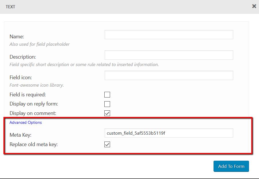 Comment Form Builder - wpDiscuz - WordPress Comment Plugin