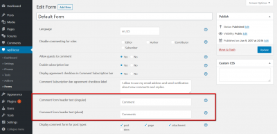 wpDiscuz ho to translate comment header x comments phrase