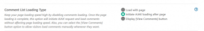 wpDiscuz load comments after loading the page