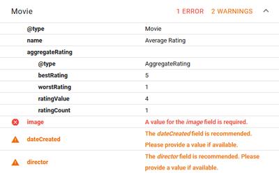Screenshot 2020 11 04 Structured Data Testing Tool