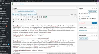 Inline Summary Works